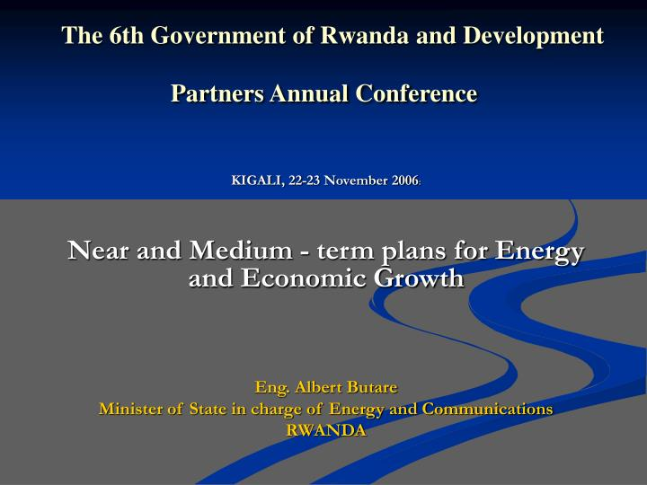 the 6th government of rwanda and development partners annual conference n.