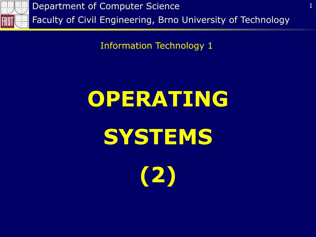 Ppt Operating Systems 2 Powerpoint Presentation Id 5782964