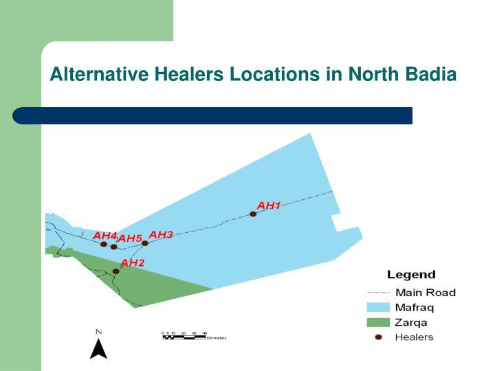 Alternative Healers Locations in North Badia