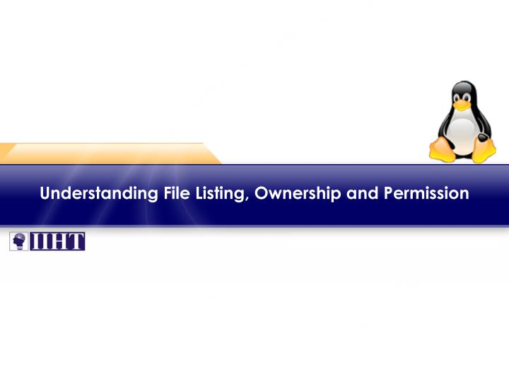understanding file listing ownership and permission n.