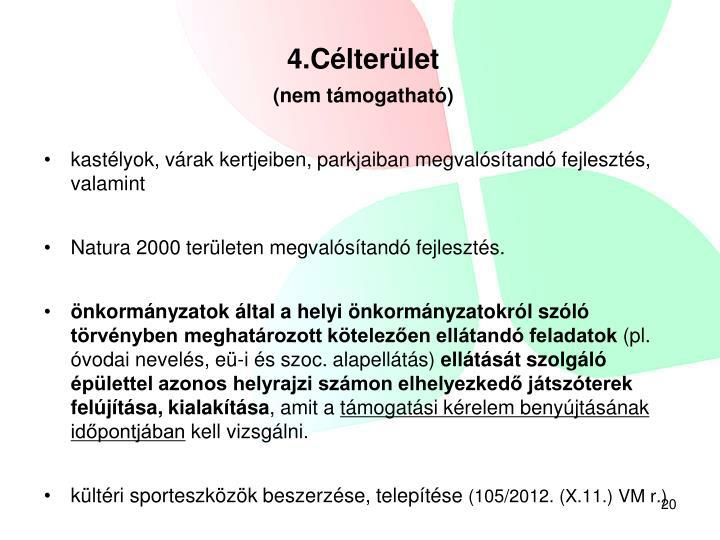 4.Célterület