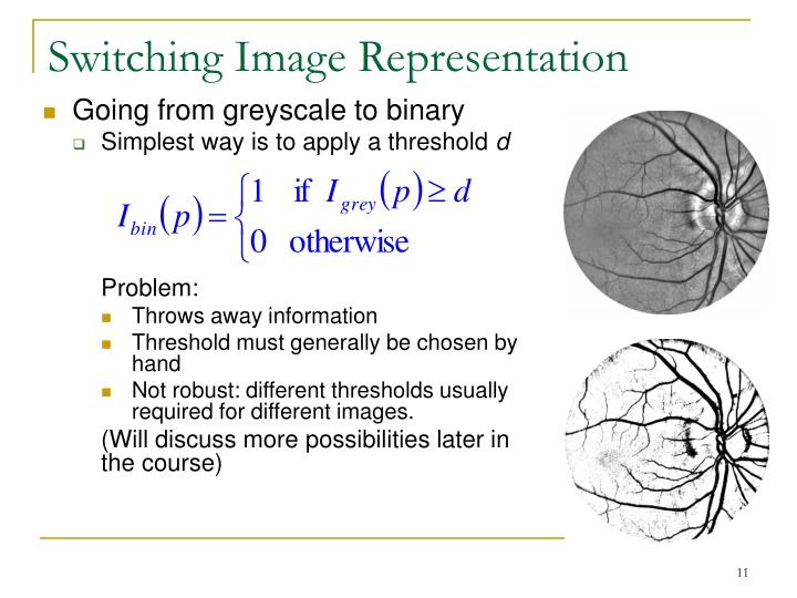 Switching Image Representation