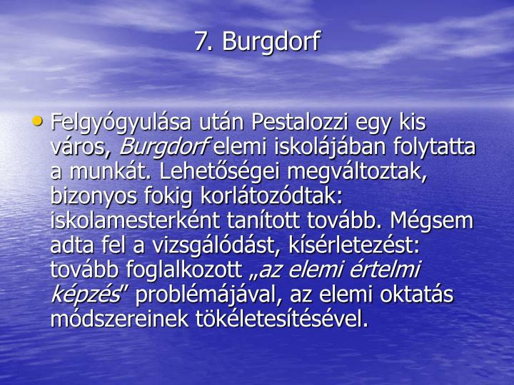 7. Burgdorf