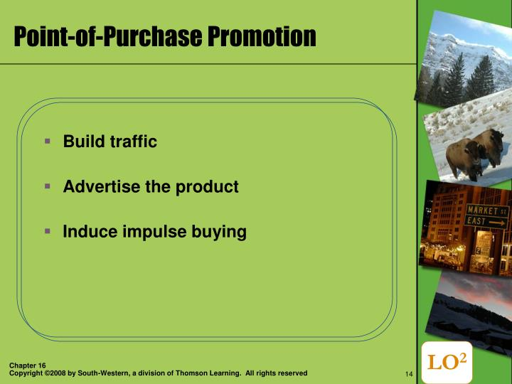 Point-of-Purchase Promotion