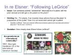 in re elsner following legrice