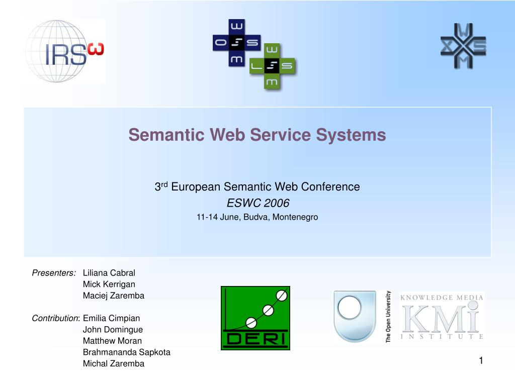 Semantic Web Service Systems N