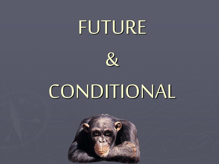 future conditional n.