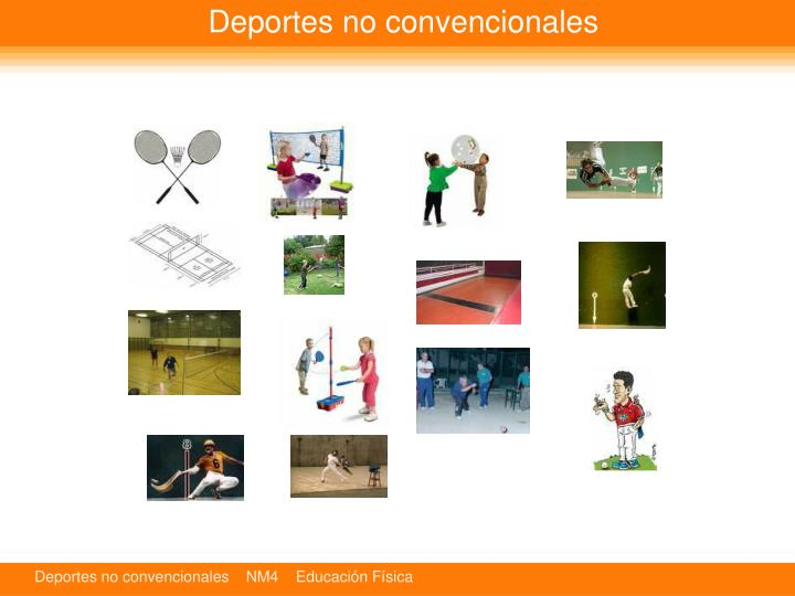 Deportes no convencionales1