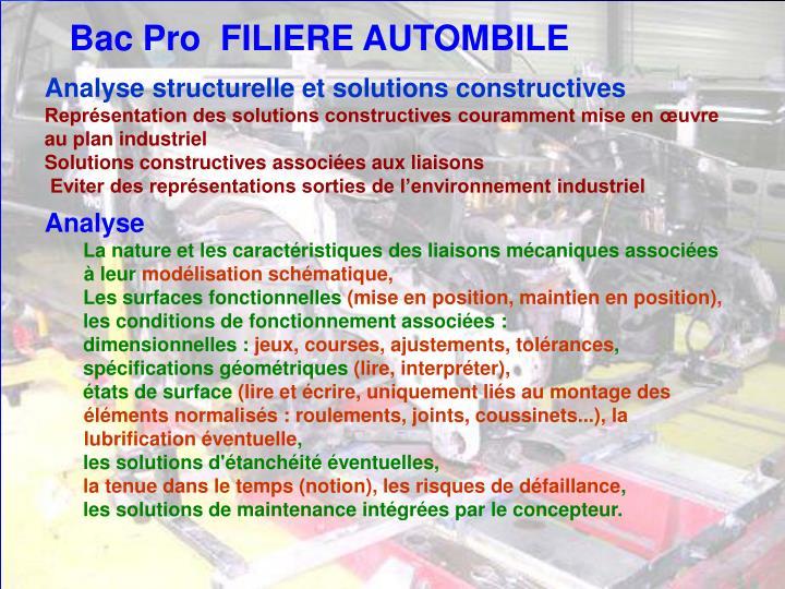 Analyse structurelle et solutions constructives