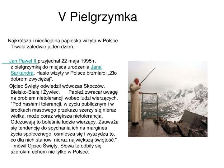 V Pielgrzymka