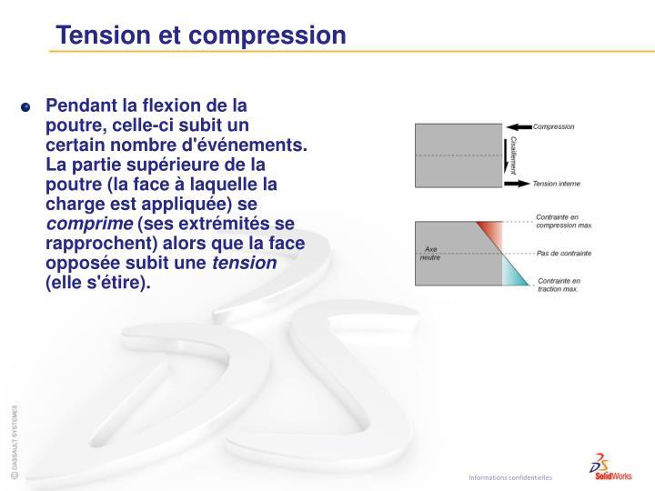 Tension et compression