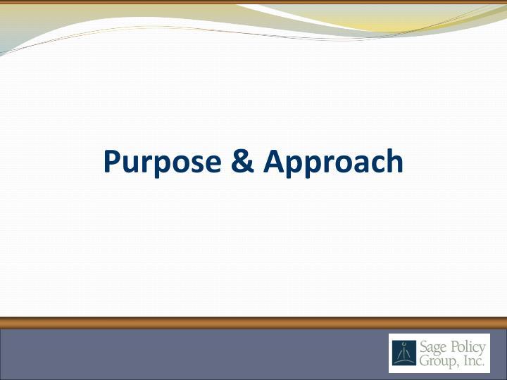 Purpose approach