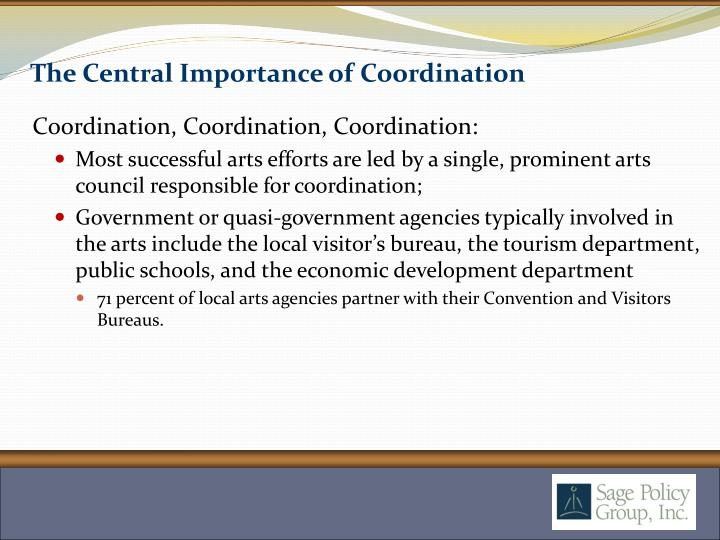 The Central Importance of Coordination