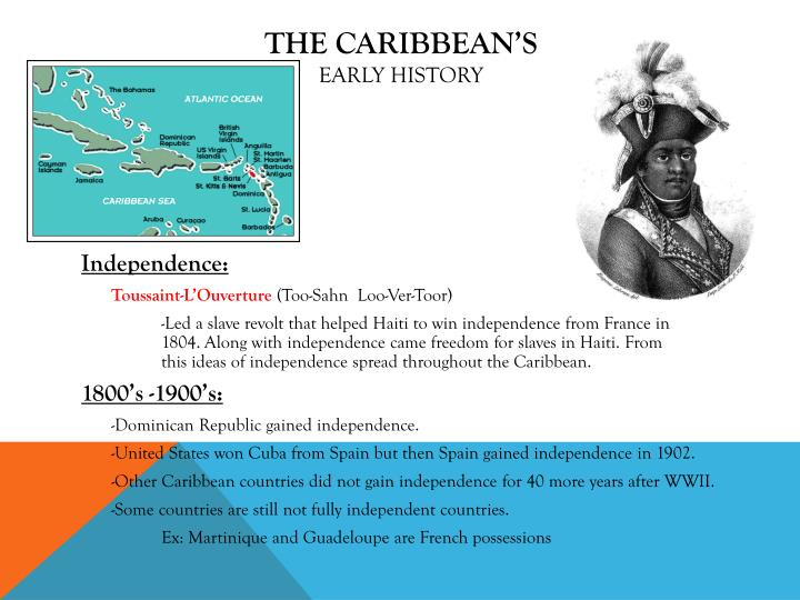 the identity and history of the caribbean A caribbean identity refers to the qualities, beliefs and culture common to the geographic area known as the caribbean defining caribbean identity is problematic because the caribbean includes many places such as cuba, florida, venezuela, belize and other locations that contain dozens of ethnic groups and much mixing of culture, says global voices online.