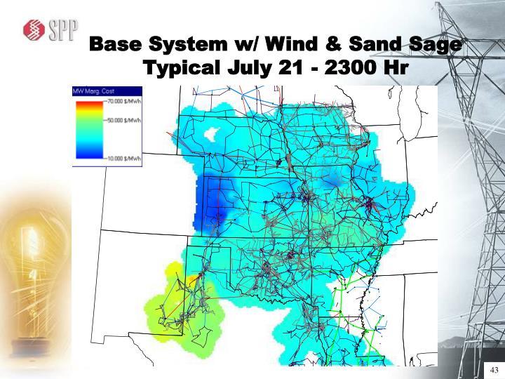 Base System w/ Wind & Sand Sage