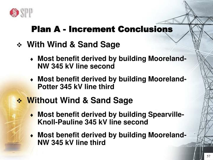 Plan A - Increment Conclusions