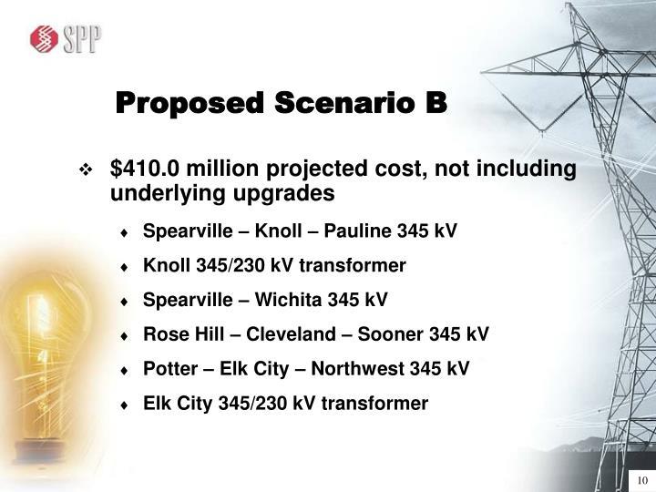 Proposed Scenario B