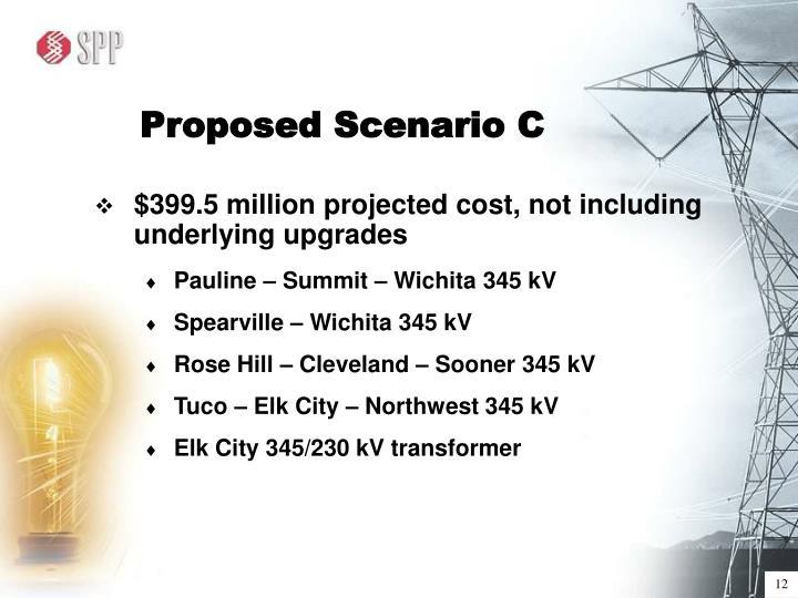 Proposed Scenario C