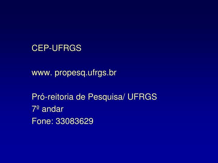 CEP-UFRGS