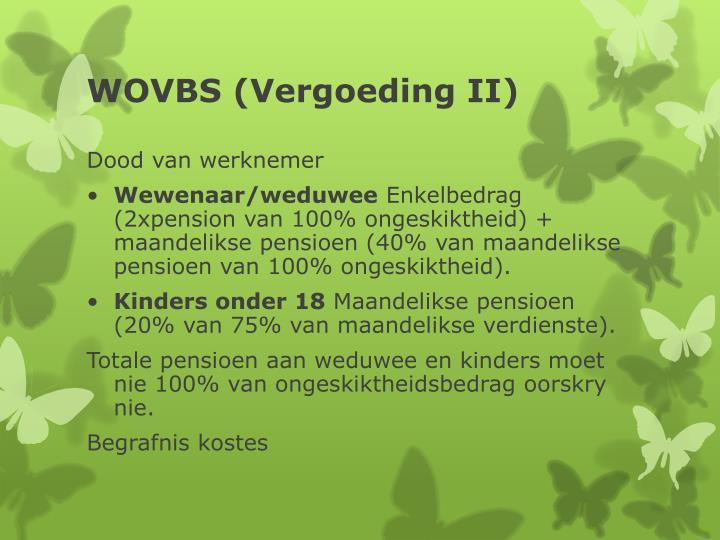 WOVBS (Vergoeding II)