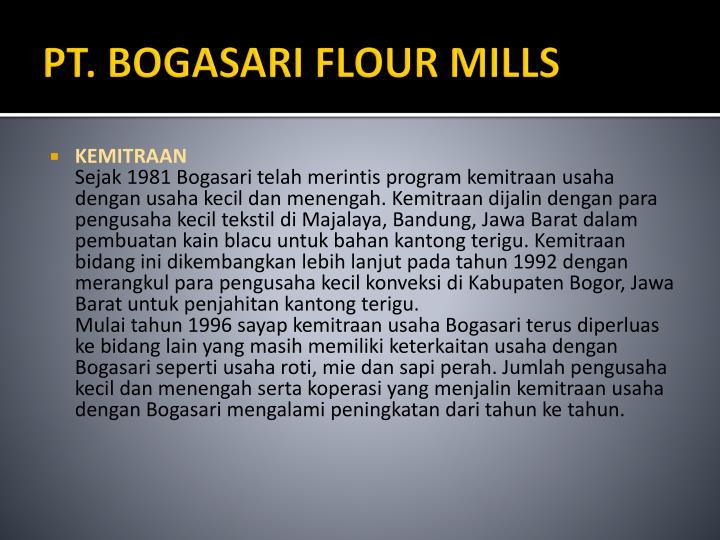 PT. BOGASARI FLOUR MILLS