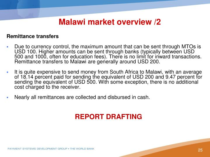 Malawi market overview /2