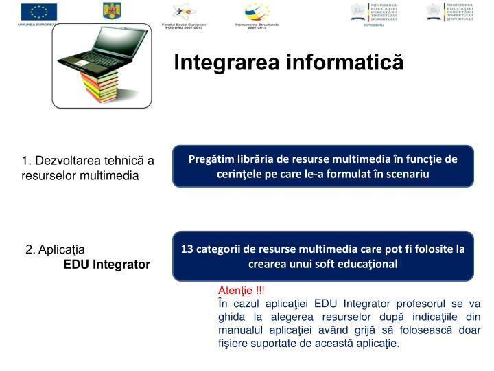 Integrarea informatică