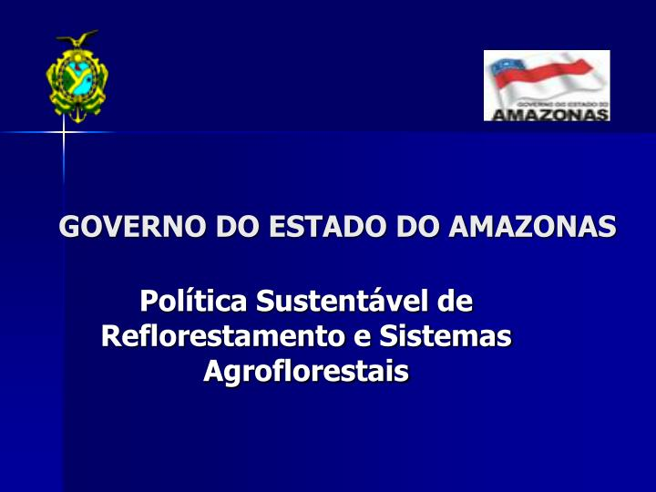 governo do estado do amazonas n.