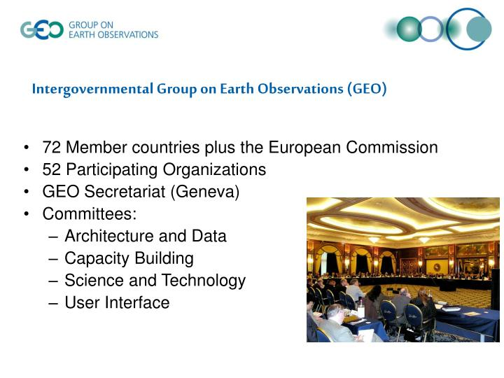 science and technology global earth observing