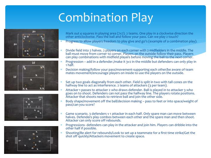 Combination Play