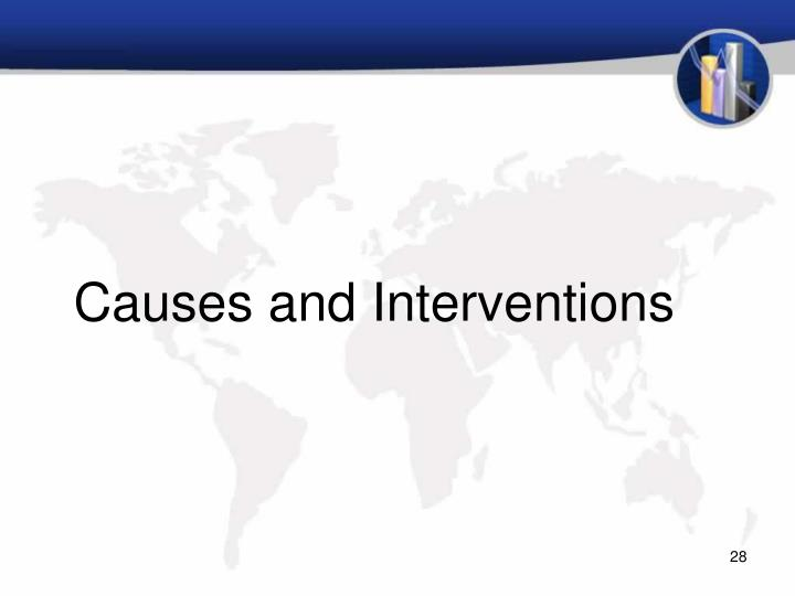 Causes and Interventions