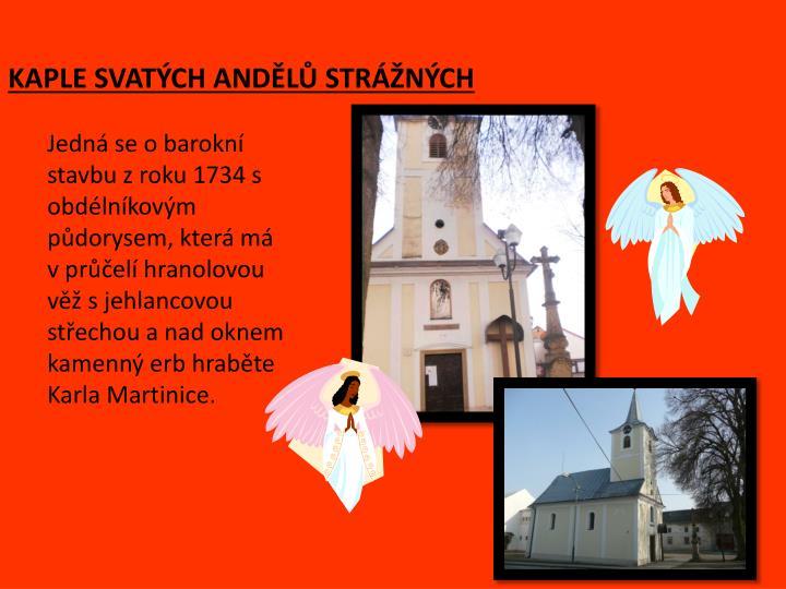 Kaple svat ch and l str n ch