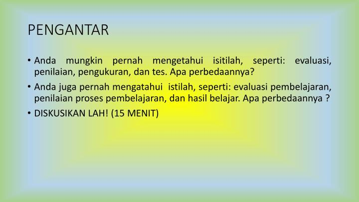 Ppt Evaluasi Pembelajaran Sd Powerpoint Presentation Id 5787241