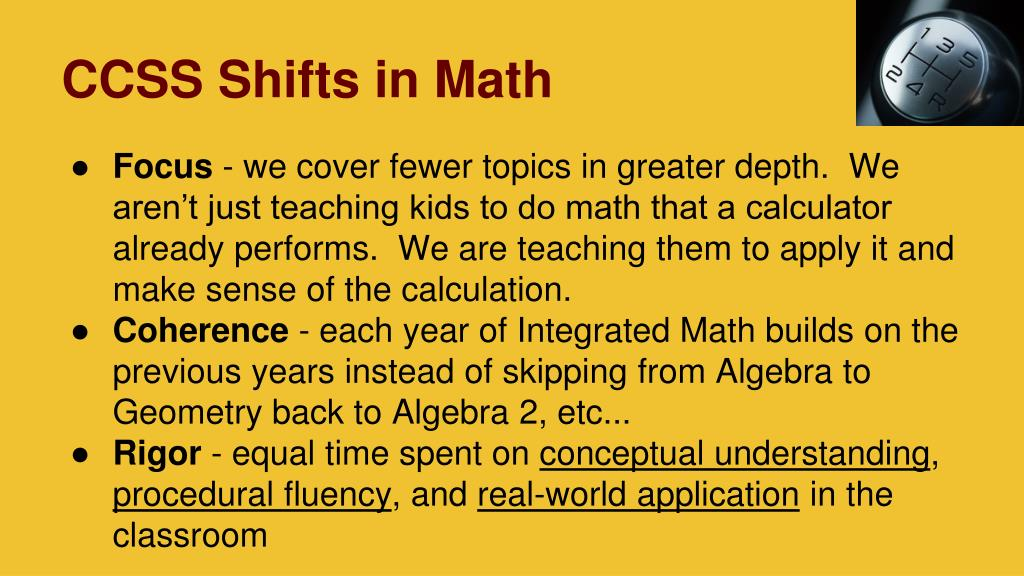PPT - Common Core Math 101 PowerPoint Presentation - ID:5787257