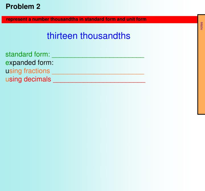Ppt Topic B D Ecimal Fractions And Place Value Patterns Powerpoint