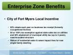 enterprise zone benefits1