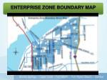 enterprise zone boundary map