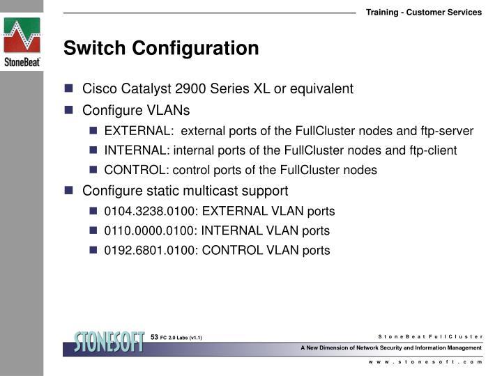 Switch Configuration