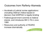 outcomes from rafferty alameda