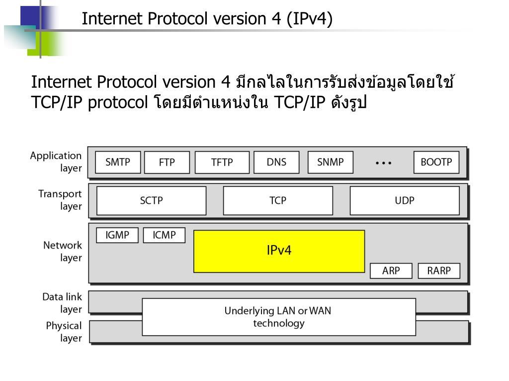 PPT - Network Layer Protocal: Internet Protocol, Address ...