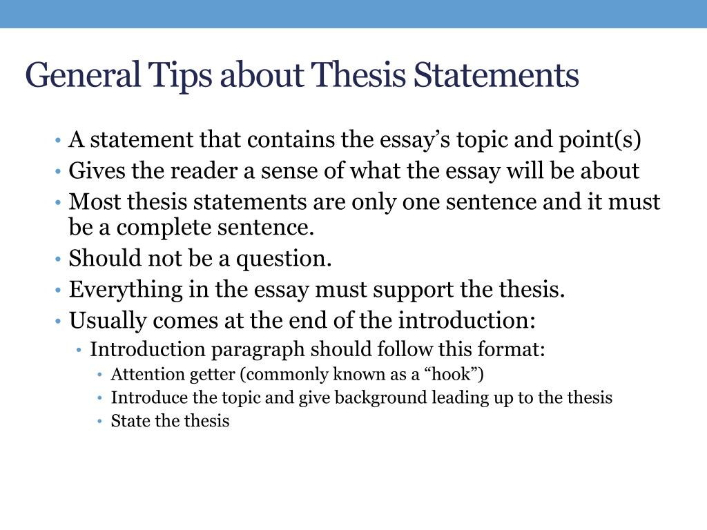 Term paper guidelines