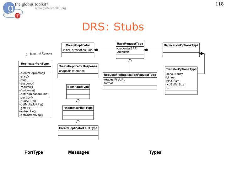 DRS: Stubs