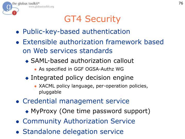 GT4 Security