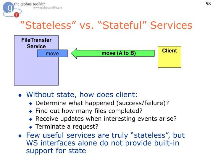 """Stateless"" vs. ""Stateful"" Services"