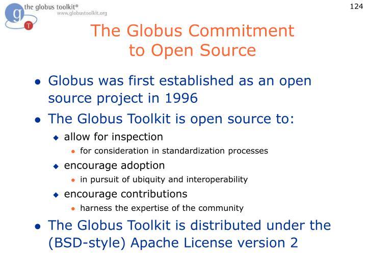 The Globus Commitment