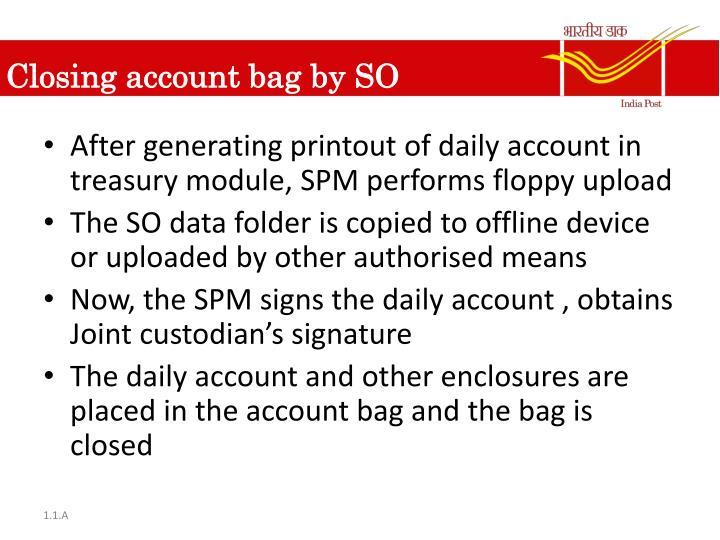 Closing account bag by SO