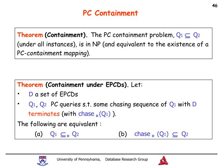 PC Containment