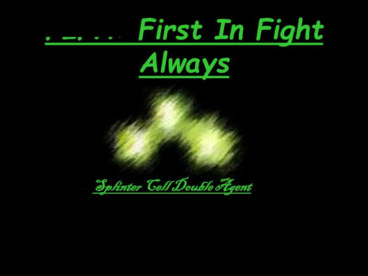 fifa first in fight always n.