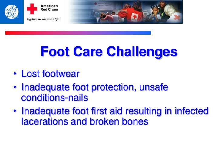 Foot Care Challenges