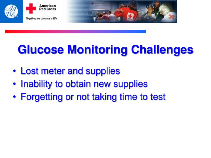 Glucose Monitoring Challenges